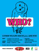 Fundraising Event Flier for Cayman Wildlife Rescue